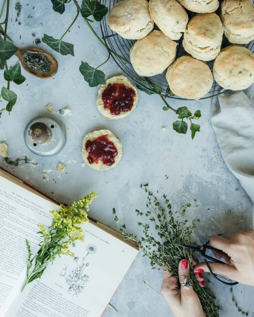 The best vegan herbal biscuits