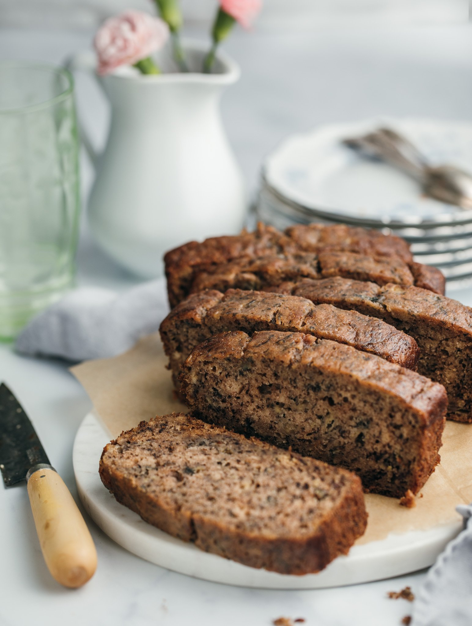 One Bowl Quick and Easy Banana Bread