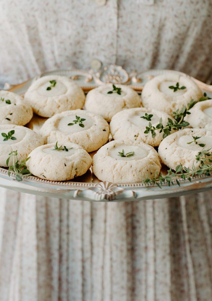 lemon thyme cookies