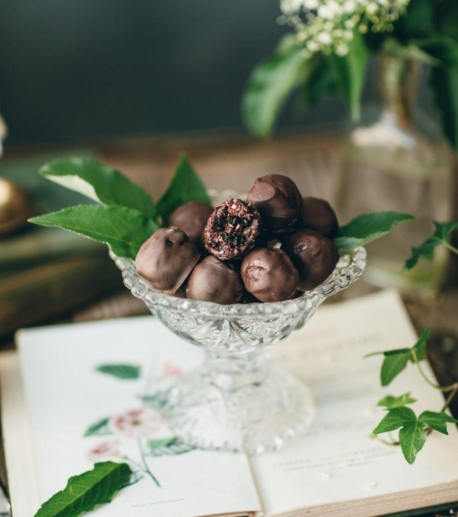 elderberry truffles